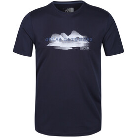 Regatta Fingal V T-Shirt Homme, navy